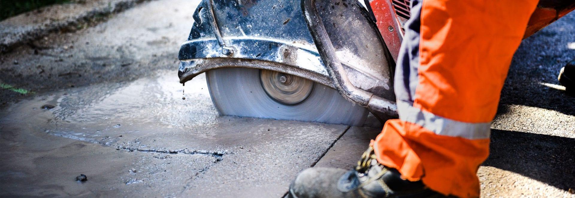 betongsagning